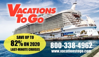 Save up to 82% on 2020 Last-Minute Cruises