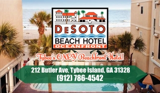 Tybee's ONLY Beachfront Hotel!