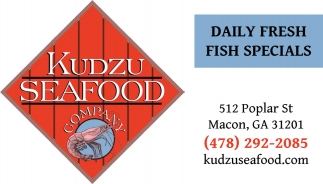 Daily Fresh Fish Specials