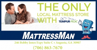 The Only Local Mattress Store with Tempur-Pedic