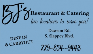 Dine In & Carryout