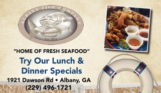 Home of Fresh Seafood
