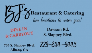 Two Locations to Serve You!