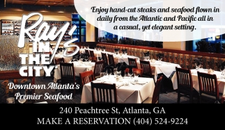 Downtown Atlanta's Premier Seafood
