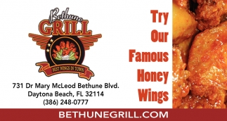 Try Our Famous Honey Wings