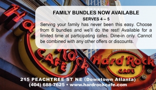 Family Bundles Now Available