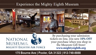 Experience the Mighty Eighth Museum