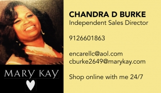 Chandra D. Burke, Independent Sales Director