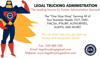 The Leading Source for Trucker Administration Services