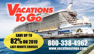 Save up to 82% on 2019 last-minute cruises