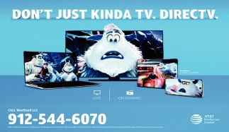 Don't just kinda TV. DIRECTV