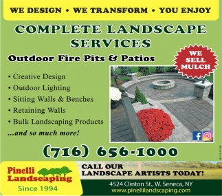 We Design - We Transform - You Enjoy