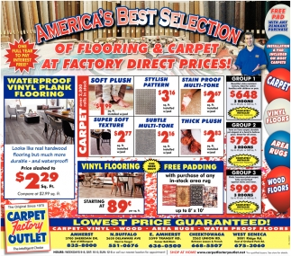 America's Best Selection Of Flooring & Carpet