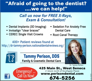Affraid of Going To The Dentist? We Can Help!