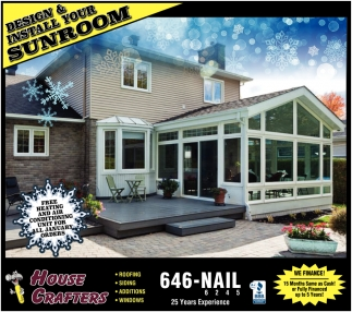 Design & Install Your Sunroom
