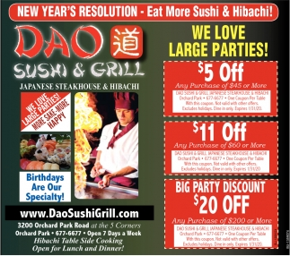 Japanese Steakhouse & Hibachi