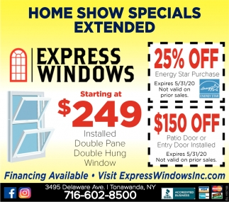 Home Show Specials Extended