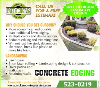 Concrete Edging
