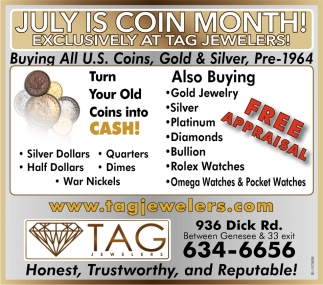July Is Coin Month!