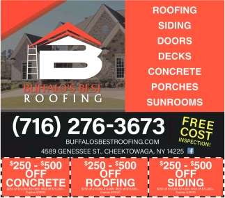 Roofing - Siding - Doors - Decks