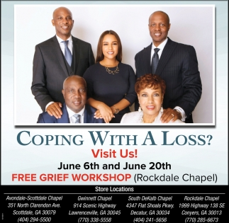 Visit Us Gregory B Levett Sons Funeral Homes Crematory Inc Scottdale Ga