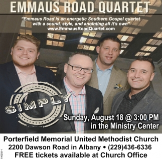 Emaus Road Quartet