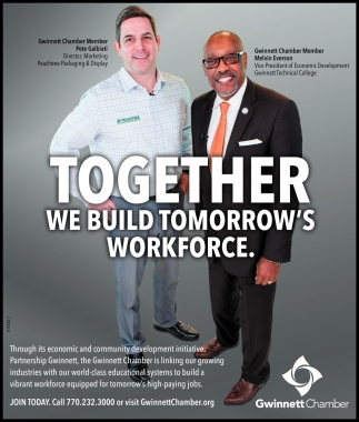 Together We Build Tomorrow's Workforce