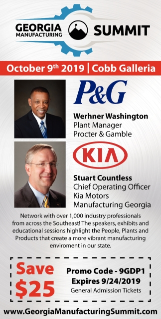 Georgia Manufacturing Summit