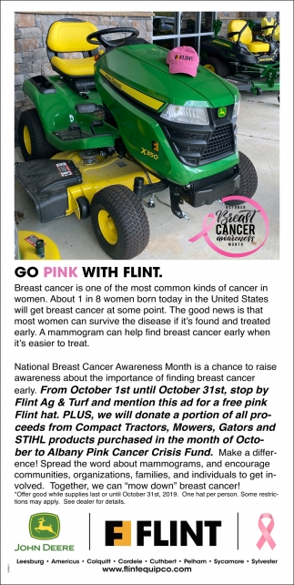 Go Pink with Flint
