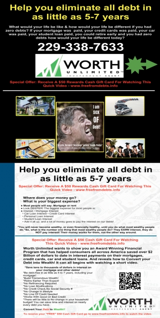 Help Your Eliminate All Debt In as Little as 5-7 Years