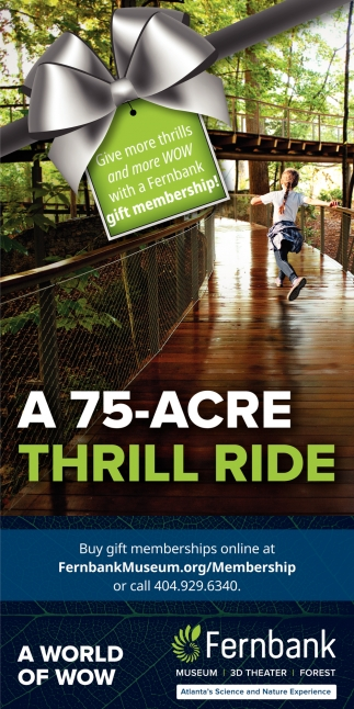 A 75-Acre Thrill Ride