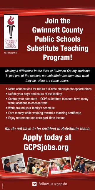 Substitute Teaching Program!