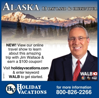 Alaska 13 Day Land & Cruise Tour