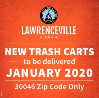 New Trash Carts