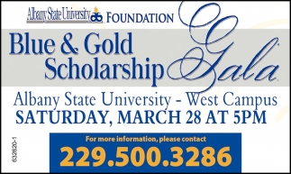 Blue & Gold Scholarship Gala