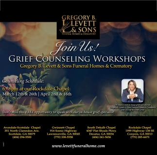 Grief Counseling Workshops
