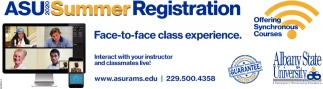 ASU Summer Registration