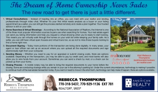 Dream of Home Ownership