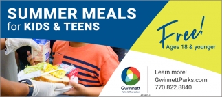 Summer Meals for Kid & Teens