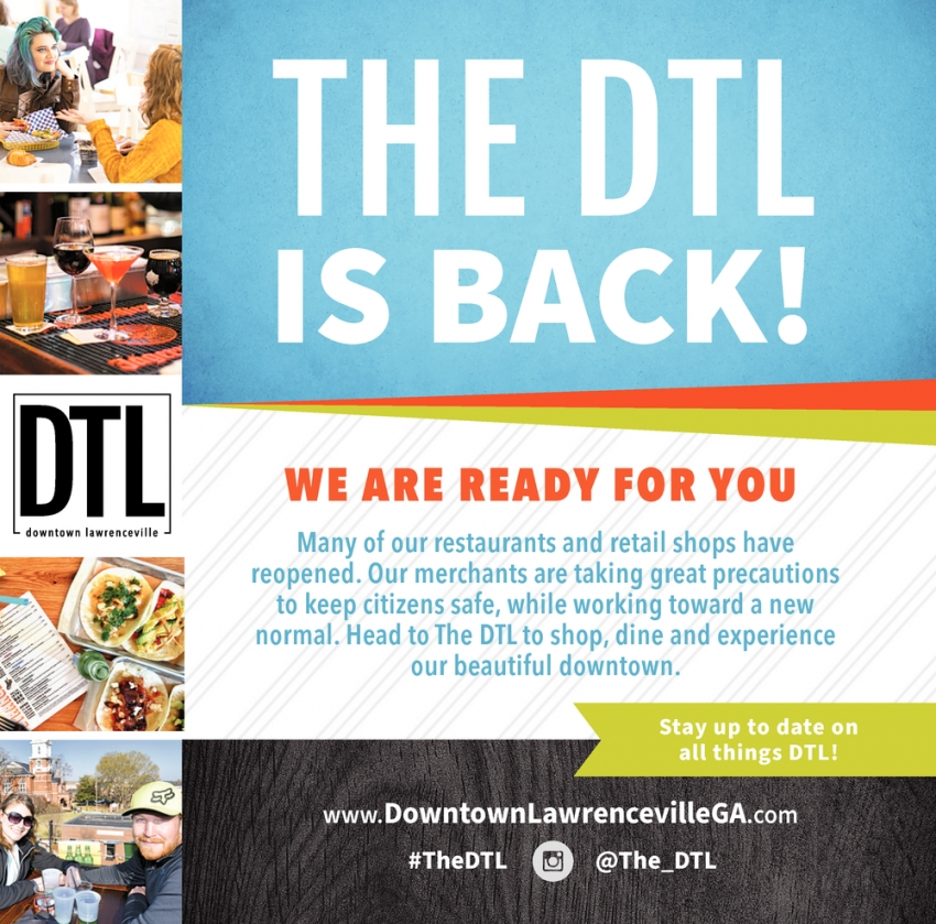 The DTL Is Back