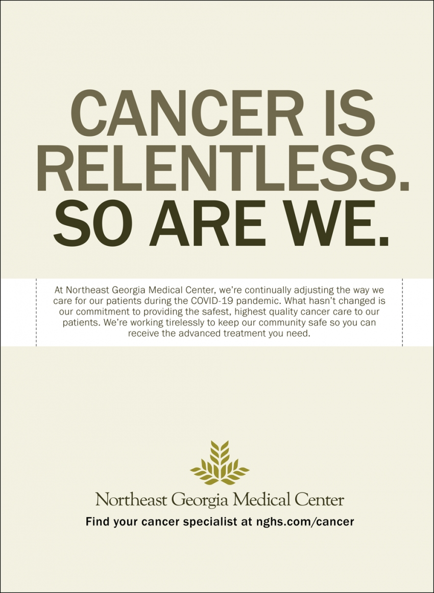 Cancer Is Relentless. So Are We.