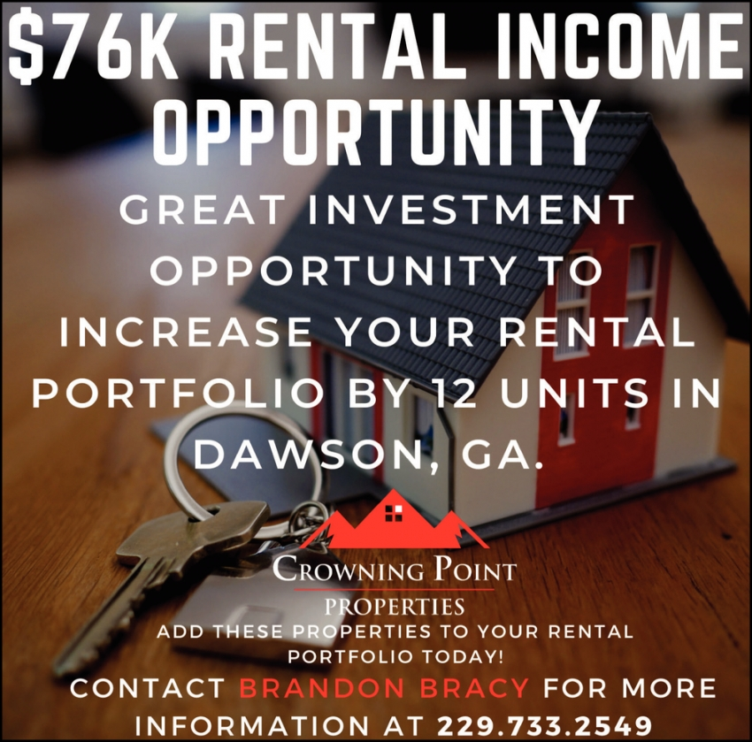 $76k Rental Income Opportunity