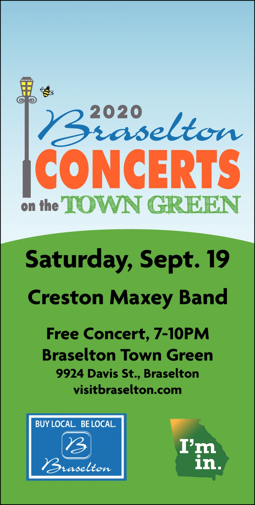 2020 Braselton Concerts On The Town Green