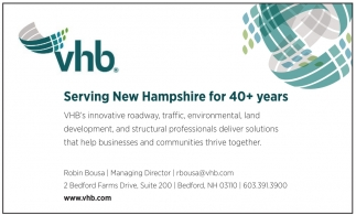 Serving New Hampshire for 40+ Years