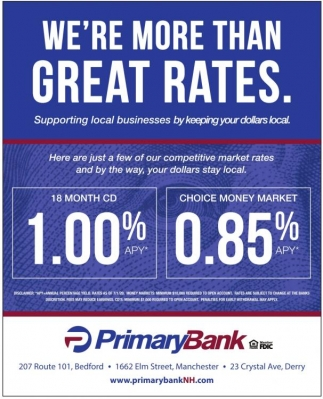 We're More Than Great Rates