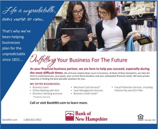 Outfitting Your Business for the Future