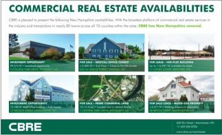 Commercial Real Estate Availabilities