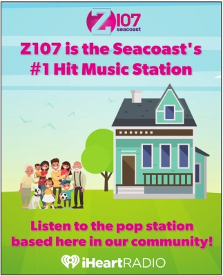 Z107 Is The Seacoast's #1 Hit Music Station