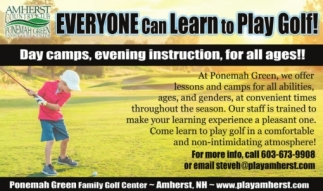 Everyone Can Learn To Play Golf!