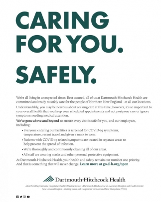 Caring For You. Safely.